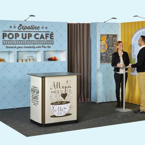 AV Display – zabudowa targowa ścianki pop up expo magnetic