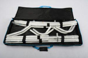 konstrukcja ścianki tekstylnej textilwall