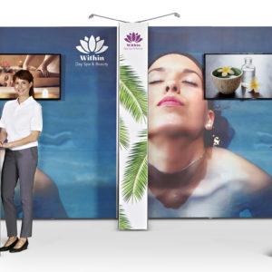 mobilne ścianki pop up expo magnetic