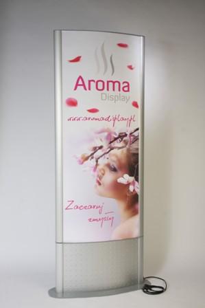 aroma display na dyfuzję