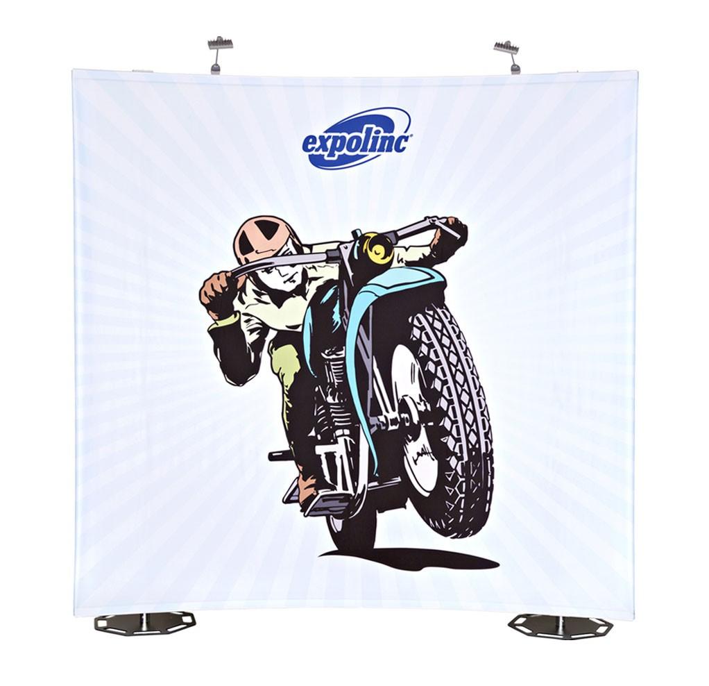Fabric System sciana reklamowa