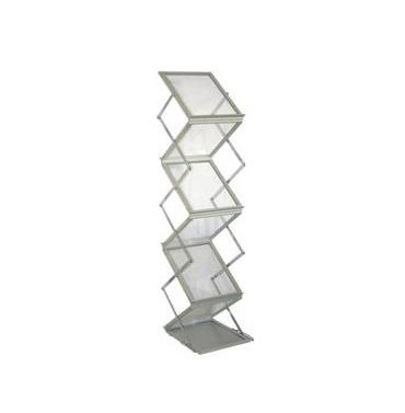 stojak na ulotki easy, cascade, skłądany stojak na foldery