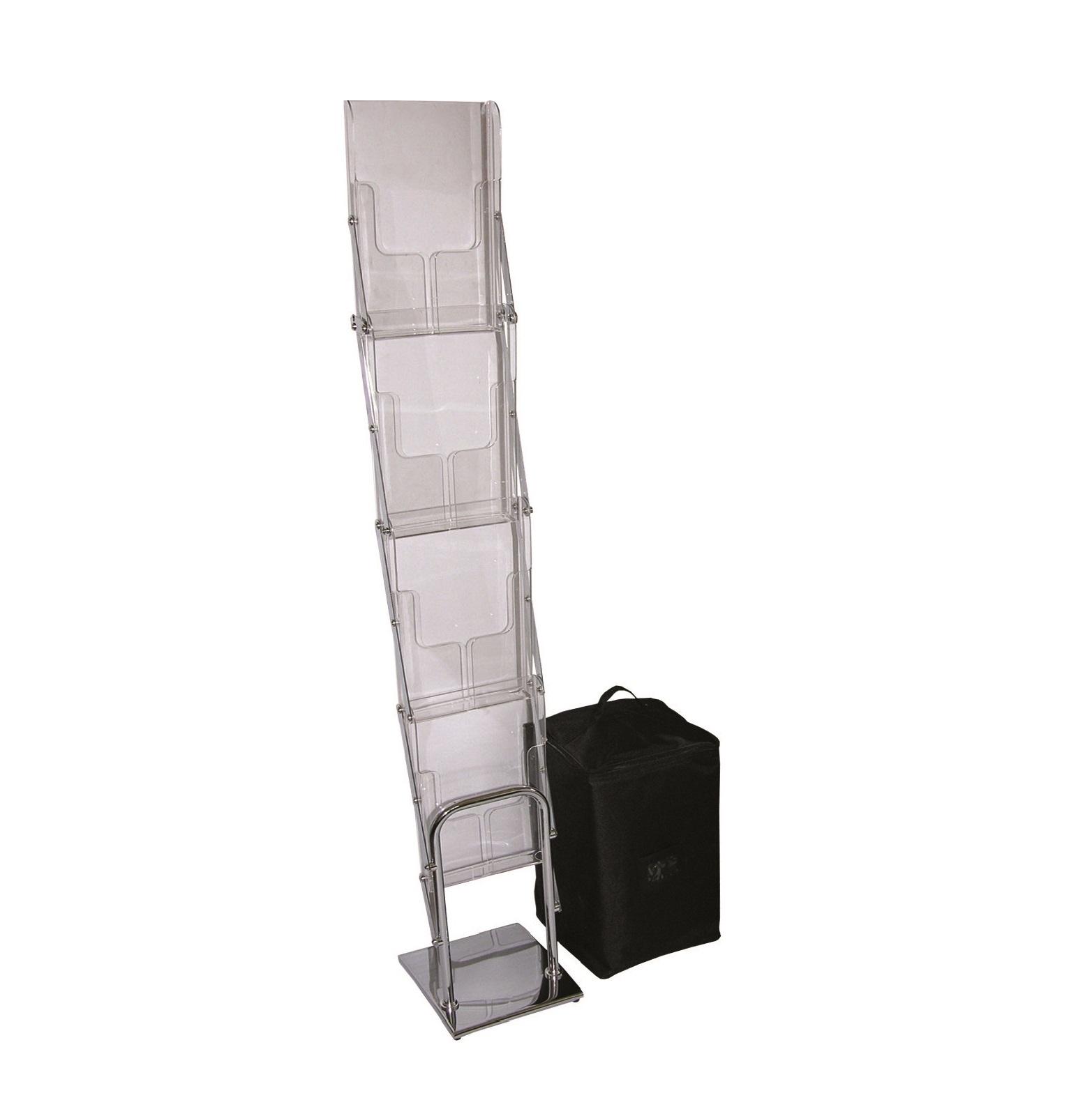 stojak na ulotki nice fold, składany stojak na foldery